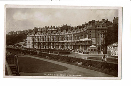 CPA - Carte Postale Royaume Uni -Folkestone- Marine Crescent 1915 -VM2336 - Folkestone