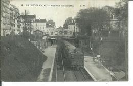 Saint-Mandé-Avenue Gambetta - Saint Mande