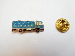 Beau Pin's , Transport Camion Citerne , SRRHU , Huiles Usagées - Transports