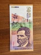 COLOMBIA 50000 Pesos - P 455 - 28 De Julio De 2001 - UNC - Colombie