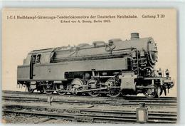 52956129 - 1E1 Heissd.-Gueterzugs-Tenderlokmotive Deutsche Reichsbahn - Trains