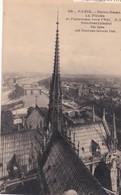 PARIS -  La Flèche De La Cathédrale Notre-Dame - Panorama Vers L'est - Notre Dame De Paris