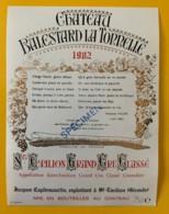 10352 - Château Balestard La Tonnelle 1982 Spécimen - Bordeaux