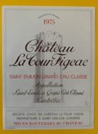 10355 - Château La Tour Figeac 1975 Saint Emilion - Bordeaux