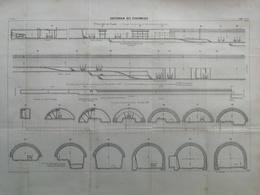 ANNALES DES PONTS Et CHAUSSEES (Dep 69) - Souterrain Des écharmeaux - L. Courtier 1900 (CLD02) - Architecture
