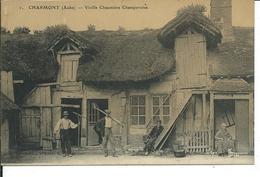 Charmont-Vieille Chaumière Champenoise - France