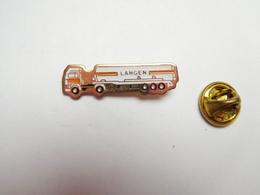 Beau Pin's , Transport Camion Pulvérulents , Langen , Hollande , Geleen - Transports
