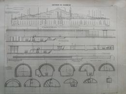 ANNALES DES PONTS Et CHAUSSEES (Dep 69) - Souterrain Des écharmeaux - L. Courtier 1900 (CLD04) - Architecture