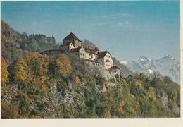 19 / 4 / 281 - SCHLOSS  VADUZ - RÉSIDENCE DES  SEIGNEURS  DU. LICHTENSTEIN. - C P M - Liechtenstein