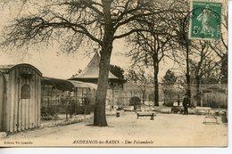 1102. CPA 33 CARTE ENTIEREMENT DEDOUBLEE. ANDERNOS LES BAINS. UNE FAISANDERIE - Andernos-les-Bains