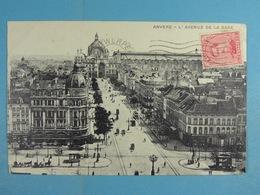 Anvers L'Avenue De La Gare - Antwerpen