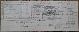 55 BRIZEAUX  ,51 Passavant En Argonne, Tampons - 1900 – 1949