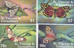 Saint Vincent & Les Grenadines YV ? MNH ? Papillons - Papillons