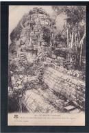 Le Bayon - Profil Du Mur D'enceinte Avec Tetes Décoratives Dans Les Angles Ca 1920 OLD POSTCARD - Kambodscha