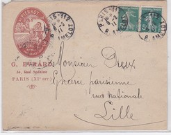 LSC - PARIS 112 / 8.2.11 - Postmark Collection (Covers)