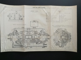'ANNALES DES PONTS Et CHAUSSEES (Dep 13) - Plan Du Viaduc Sur L'étang De Caronte - Imp.A Gentil - 1915 (CLD09) - Zeekaarten