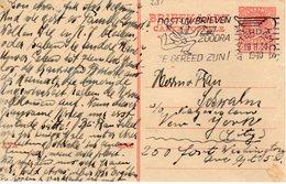 19 II 1940 Bk Amsterdam - New York  (Joodse Post) Schwalm - Katzenstein - Periode 1891-1948 (Wilhelmina)