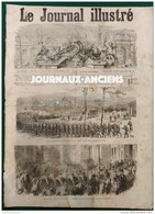 1872 REIMS EVACUATION DES TROUPES ALLEMANDES - AU PAYS DU PETROLE OIL CRECK - SAINTE CECILE -  LE JOURNAL ILLUSTRÉ - Journaux - Quotidiens