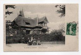 - CPA SAINT-AUBIN-DE-CRÉTOT (76) - Chalet Normand 1909 - Edition Michaud-Chavatte - - Francia