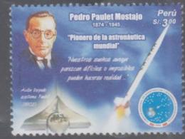PERU -  OEDRO PAULET MOSTAJO /ASTRONOMY   MINT NEVER HINGED - Peru