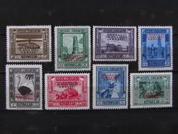 """ITALIA Colonie Somalia-1934- """"Duca Degli Abruzzi"""" Cpl. 8 Val. MLH* (descrizione) - Somalia"""