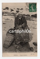 - CPA DIEPPE (76) - Type De Moulière (superbe Gros Plan) - Photo Neurdein - - Dieppe