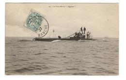 """BATEAUX - Le Sous-Marin """"Algérien"""" - Submarines"""