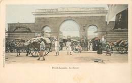 "CPA MAURICE ""Port Louis, Le Bazar"" - Maurice"