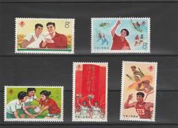Chine  - China  - 1975 - Série Timbres  Neuf ** - 1949 - ... Repubblica Popolare