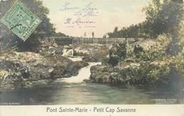 "CPA MAURICE ""Petit Cap Savanne, Pont Sainte Marie"" - Maurice"