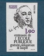 France Timbres De 1981  N° 2167a  Non Denteles Neuf **gomme Parfaite - Francia