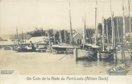 """CPA MAURICE """"Un Coin De La Rade Du Port Louis"""" - Maurice"""