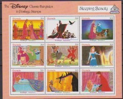 2486 WALT DISNEY -  GRENADA - CLASSIC FAIRYTALES  - SLEEPING BEAUTY . - Disney