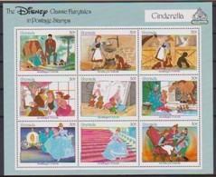 2487  WALT DISNEY -  GRENADA - CLASSIC FAIRYTALES  - CINDERELLA . - Disney