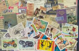 Burkina Faso 25 Different Stamps - Burkina Faso (1984-...)