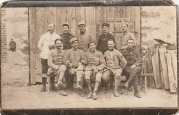 ***  MILITARIA - Photo Carte Soldats Només Au Dos (en L'état) - Manoeuvres