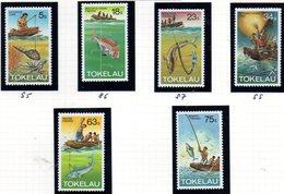 TOKELAU 1982 - Serie Yvert N. 85/90  ***  MNH  (2380A) - Tokelau
