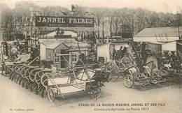 MARTINVELLE   Maison Jannel Freres - Stand D'exposition De Maximin Jannel En 1911 - Francia
