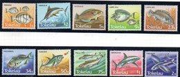 TOKELAU 1984 - Serie Yvert N. 108/117  ***  MNH  (2380A) Fish Pesci - Tokelau