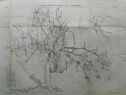 ANNALES DES PONTS Et CHAUSSEES (Allemagne) - Assainissement De Berlin - Gravé Par Macquet - 1886 (CLD15) - Travaux Publics