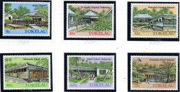 TOKELAU 1986 - Serie Yvert N. 130/135  ***  MNH  (2380A) - Tokelau