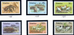 TOKELAU 1986 - Serie Yvert N. 137/142  ***  MNH  (2380A) - Tokelau