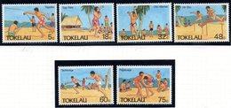 TOKELAU 1987 - Serie Yvert N. 149/154  ***  MNH  (2380A) - Tokelau