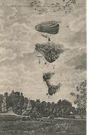 Ba/       51   Fait De Guerre   Un Ballon Captif  En Flammes - Other Municipalities
