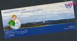 Weißrussland MH5 (kompl.Ausg.) Postfrisch 2002 Ökotourismus (9305299 - Belarus