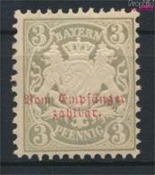 Bavière P4 Neuf Avec Gomme Originale 1876 Etat Emblem (9305062 (9305062 - Beieren