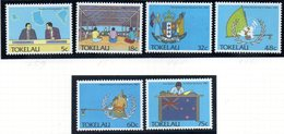 TOKELAU 1988 - Serie Yvert N. 160/165  ***  MNH  (2380A) - Tokelau