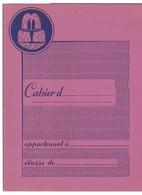 Protège-cahier Eau Minérale Naturelle VICHY SAINT-YORRE / Pastille Berlingot Sucre D'orge / Carte De France Départements - Protège-cahiers