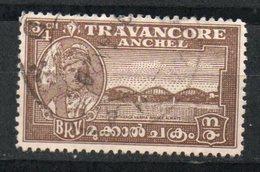 Ref: 368. Travancore. 1941. Maharaja And Marthanda Varma Bridge. Scott Nº 44 - Travancore