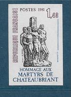 France Timbres De 1981  N°2177a Non Denteles Neufs **gomme Parfaite - Francia